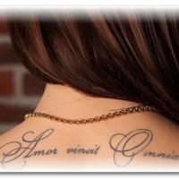 Лучшие татуировки — надписи.