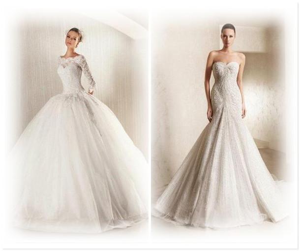 Свадебные платья очень красивые