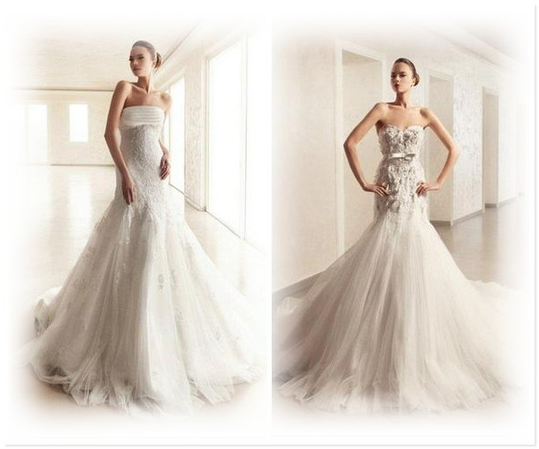 Самое красивое свадебное платье