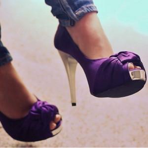 сочетание фиолетового