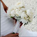 Букет из пионов символизируют Любовь и Красоту.