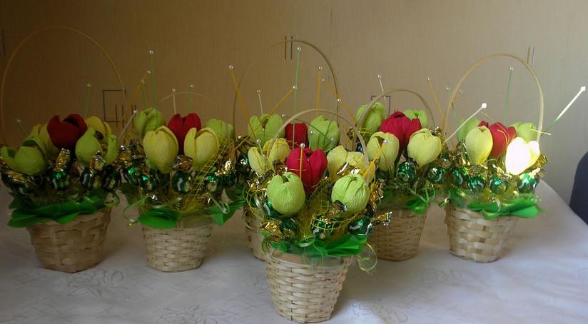 фото с цветами в вазах
