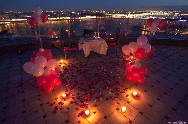 фото романтические вечера