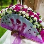 Букеты для невесты   Необычные формы