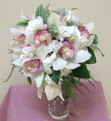 Свадебный букет из орхидей фото, свадебный букет невесты | Фиеста