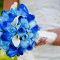 свадебные букеты из орхидей фото