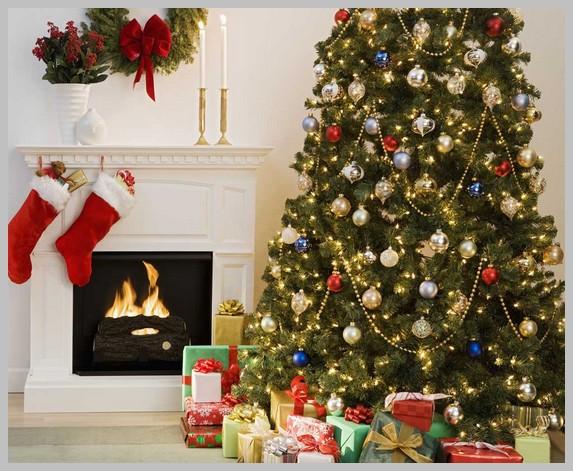 Как украсить дом, комнату и ёлку на Новый год 2018 - фото
