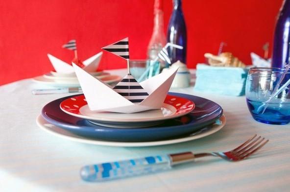 Новогодняя вечеринка в морском стиле.