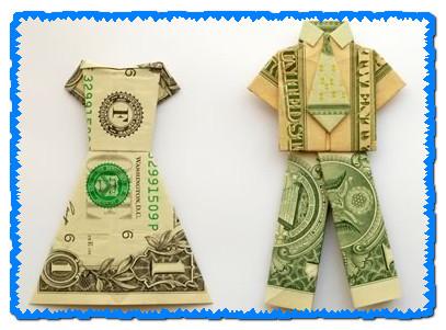 Как сделать платье из деньги