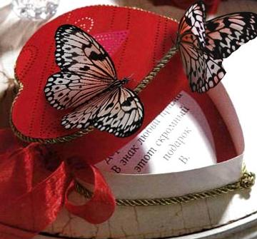 Cалют из бабочек на Cвадьбу. Эффектно и красиво.