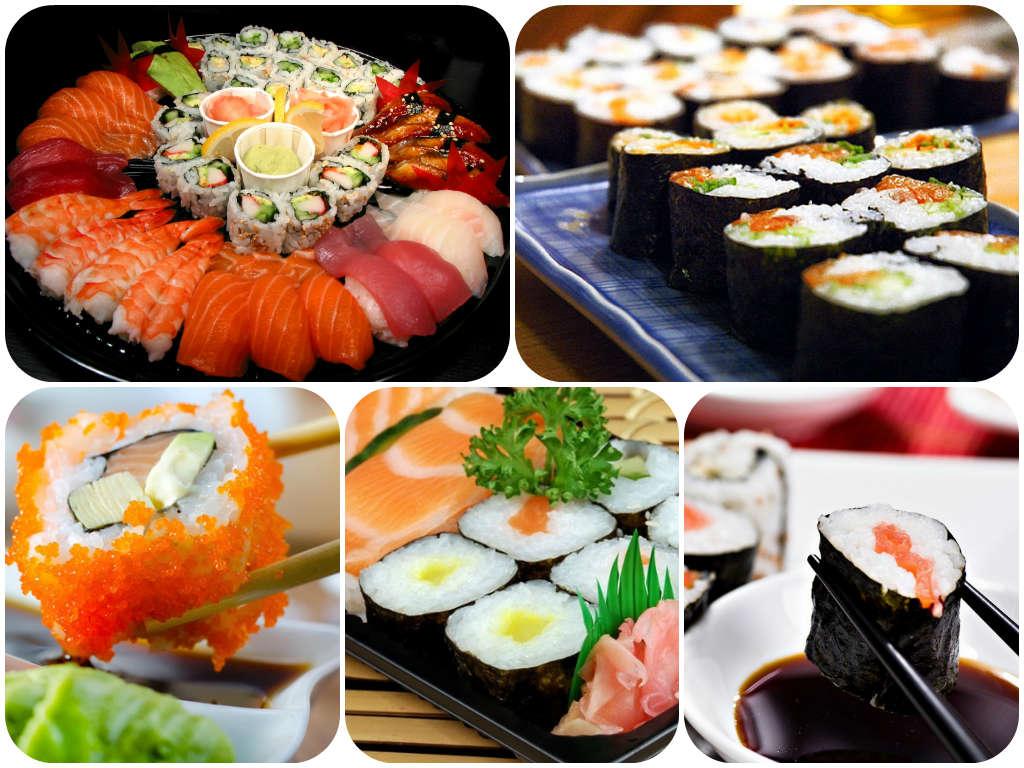 Где можно заказать суши и роллы на дом и в офис? Польза суши и роллов.