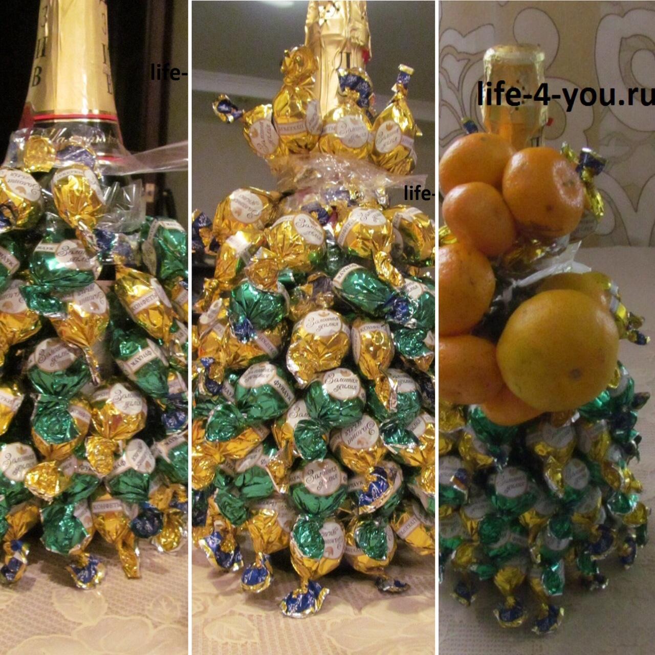 Сделать новогодний подарок своими руками мастер класс
